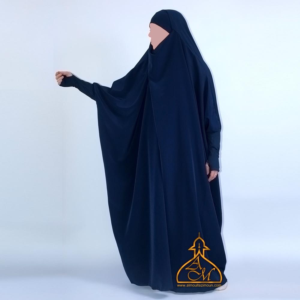 Jilbab manche elasthane effet mitaine !