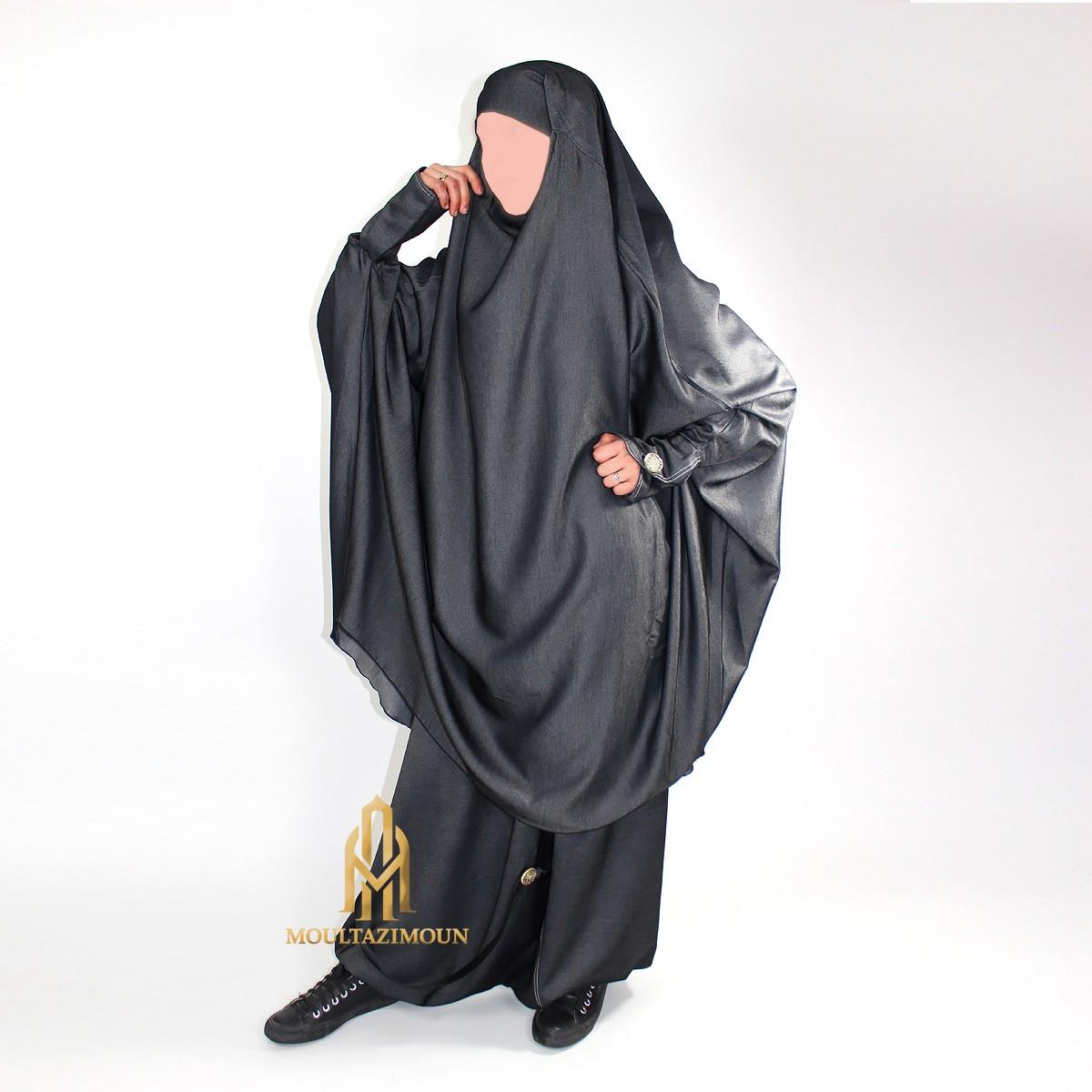 jilbab sarouel en jean