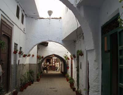 ruelles medina tetouan