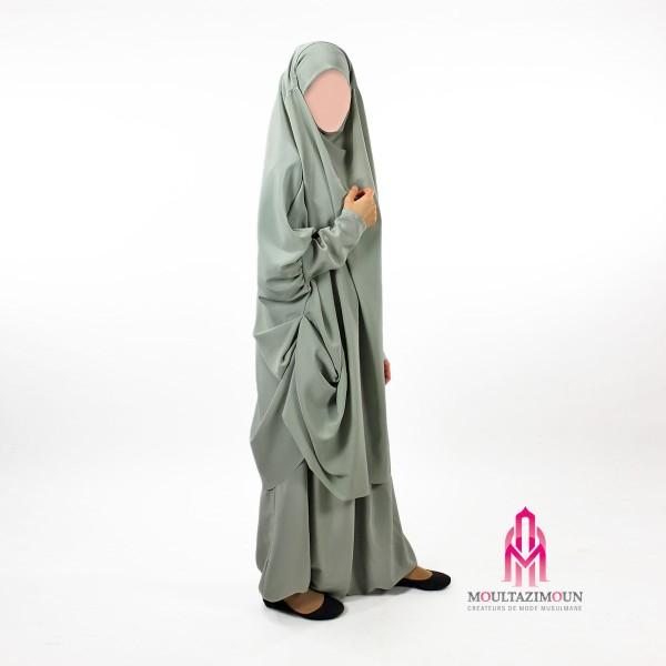 jilbab sarouel lady najah