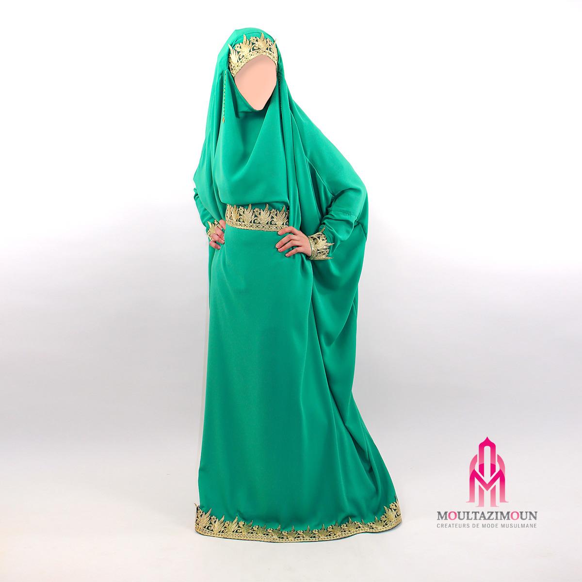 jilbab mariage emeraude - Jilbeb Mariage