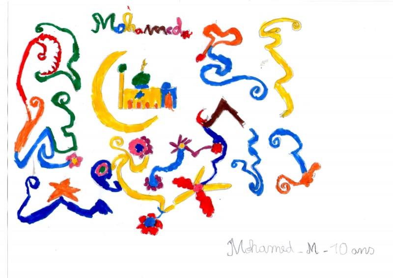 dessin mohamed
