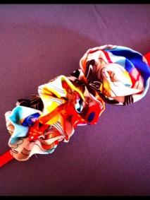 ceinture fleur tissu