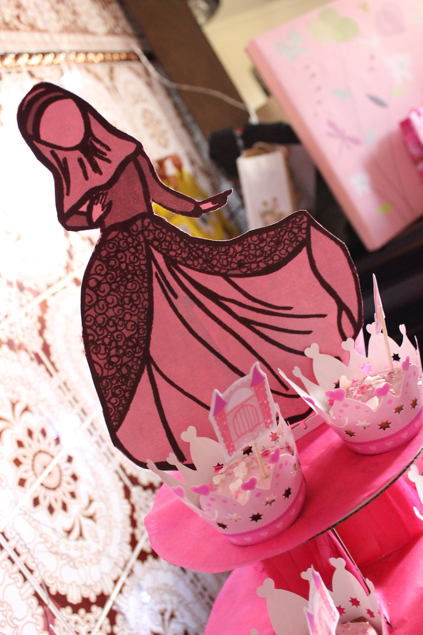 cup cake princesse musulmane