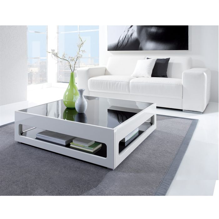Deco 5 conseils pour adopter la white attitude al for Table blanche carree