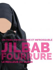 jilbab fourrure